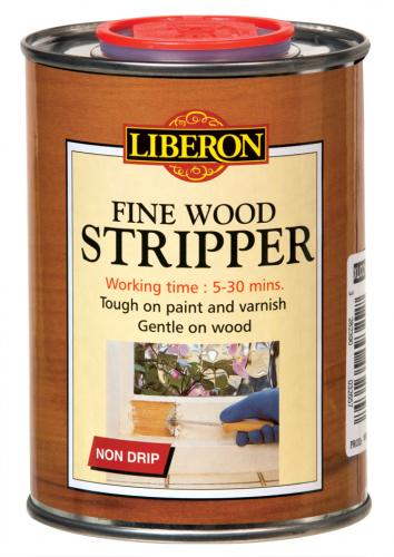 Paint stripper for wood